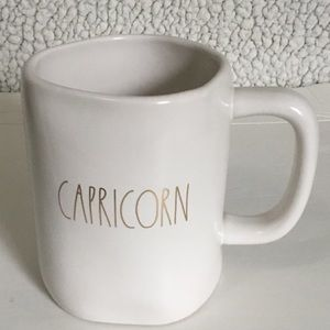 "Rae Dunn ""CAPRICORN"" Zodiac Mug"